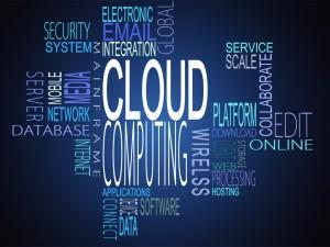 Cloud computing terms together