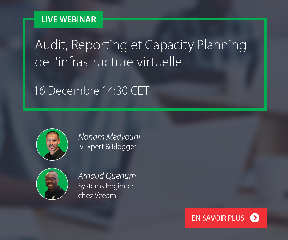 webinar Veeam One audit