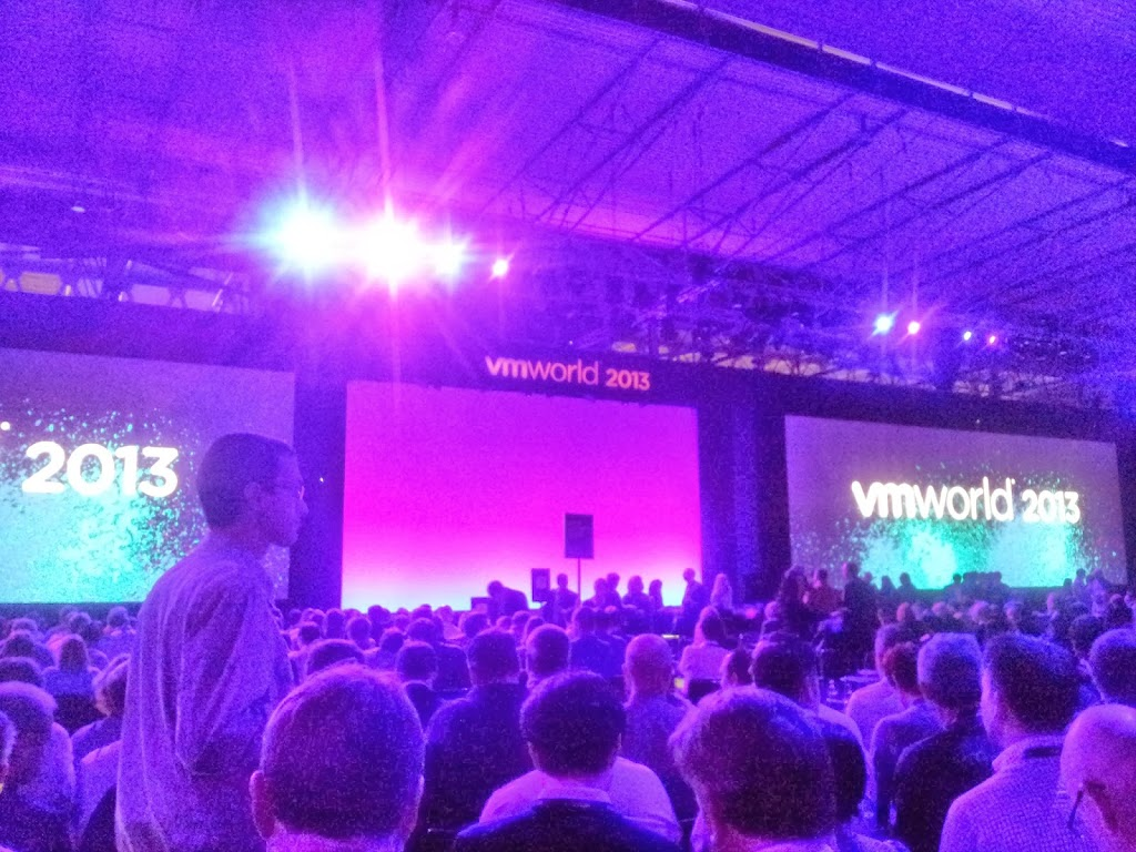 VMworld 2013 - Day 1 -