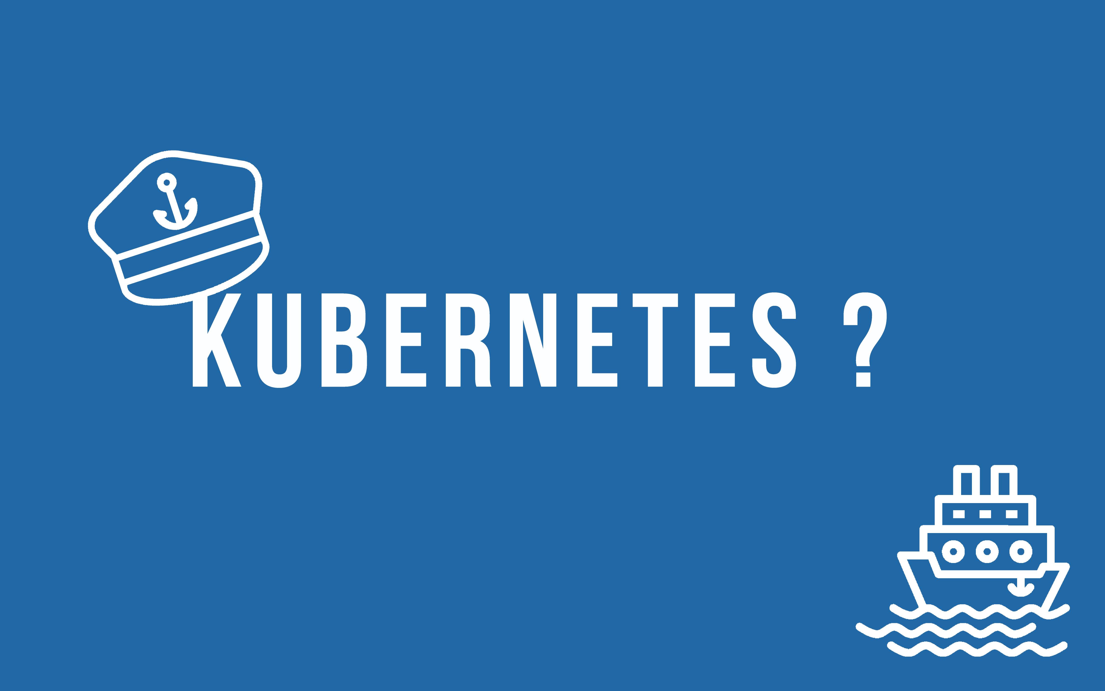 Kubernetes l'orchestrateur qui vous veut du bien  [PART1 : Introduction & Architecture] - My VM World